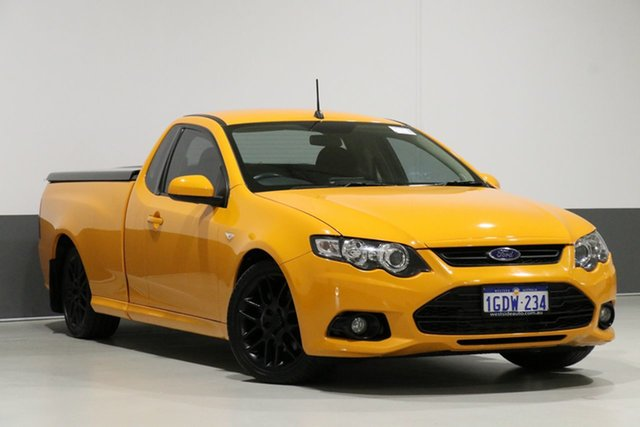 Used Ford Falcon FG X XR6T, 2014 Ford Falcon FG X XR6T Orange 6 Speed Manual Utility