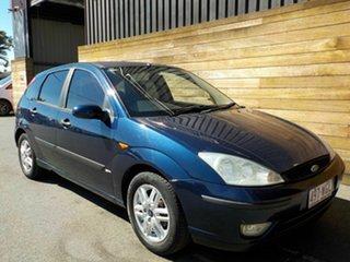 2004 Ford Focus LR MY2003 SR CL Blue 5 Speed Manual Hatchback.