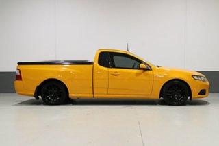 2014 Ford Falcon FG X XR6T Orange 6 Speed Manual Utility