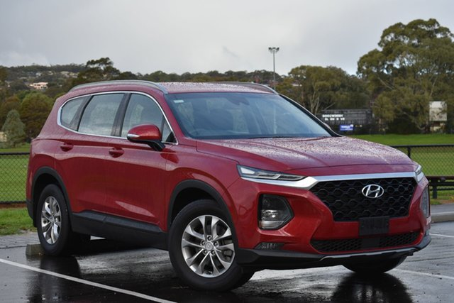 Used Hyundai Santa Fe TM MY19 Active, 2018 Hyundai Santa Fe TM MY19 Active Red/Black 6 Speed Sports Automatic Wagon