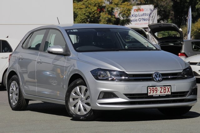 Demo Volkswagen Polo AW MY19 70TSI DSG Trendline, 2018 Volkswagen Polo AW MY19 70TSI DSG Trendline Reflex Silver 7 Speed Sports Automatic Dual Clutch