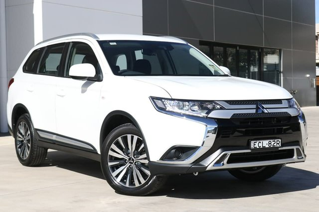 Used Mitsubishi Outlander ZL MY19 ES 2WD ADAS, 2018 Mitsubishi Outlander ZL MY19 ES 2WD ADAS White 6 Speed Constant Variable Wagon