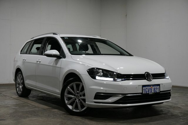 Used Volkswagen Golf 7.5 MY19 110TSI DSG Comfortline, 2018 Volkswagen Golf 7.5 MY19 110TSI DSG Comfortline White 7 Speed Sports Automatic Dual Clutch