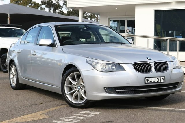 Used BMW 525i E60 MY08 Steptronic, 2008 BMW 525i E60 MY08 Steptronic Silver 6 Speed Sports Automatic Sedan