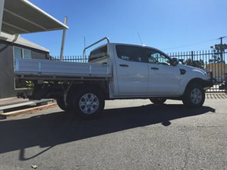 2015 Ford Ranger PX MkII XL Double Cab White 6 Speed Sports Automatic Cab Chassis.