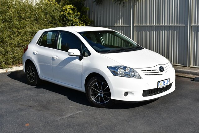 Used Toyota Corolla ZRE152R MY11 Ascent, 2011 Toyota Corolla ZRE152R MY11 Ascent White 4 Speed Automatic Hatchback
