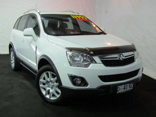 Used Holden Captiva CG Series II MY12 5, 2013 Holden Captiva CG Series II MY12 5 Summit White 6 Speed Manual Wagon