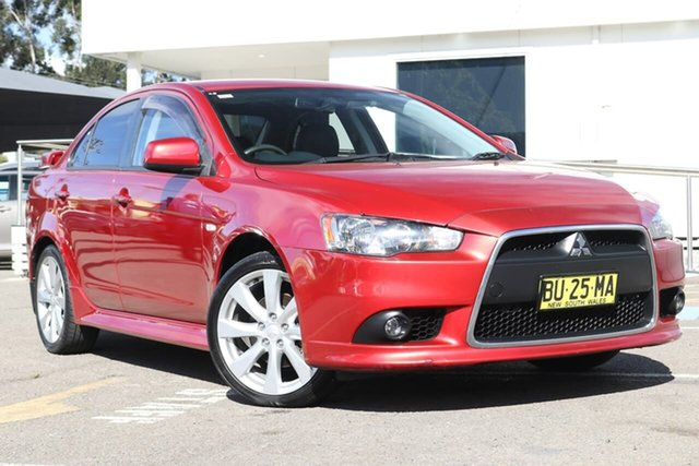 Used Mitsubishi Lancer CJ MY13 VR-X, 2013 Mitsubishi Lancer CJ MY13 VR-X Red 5 Speed Manual Sedan