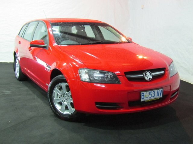 Used Holden Commodore VE MY10 Omega Sportwagon, 2009 Holden Commodore VE MY10 Omega Sportwagon Red Hot/onyx Trim 6 Speed Sports Automatic Wagon
