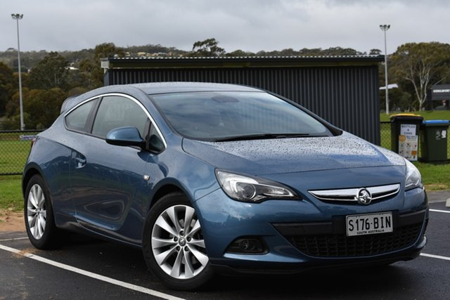 Used Holden Astra PJ MY15.5 GTC Sport, 2015 Holden Astra PJ MY15.5 GTC Sport Blue 6 Speed Manual Hatchback