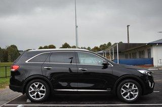2016 Kia Sorento UM MY17 Platinum AWD Black 6 Speed Sports Automatic Wagon.