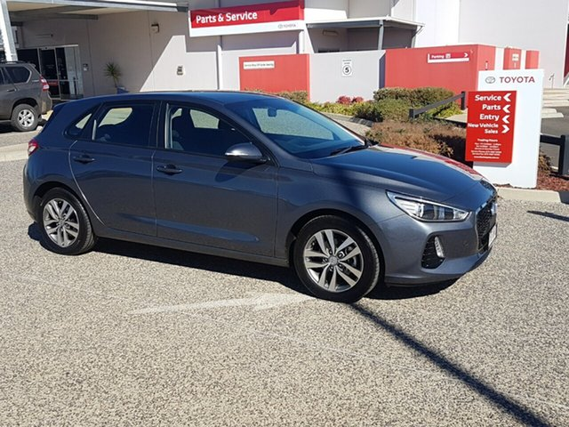 Used Hyundai i30 PD Active, 2017 Hyundai i30 PD Active Grey 6 Speed Auto Sequential Hatchback