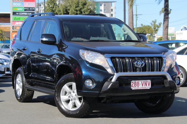 Used Toyota Landcruiser Prado KDJ150R MY14 GXL, 2015 Toyota Landcruiser Prado KDJ150R MY14 GXL Dark Steel Mica/grey 5 Speed Sports Automatic Wagon