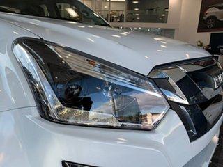 2018 Isuzu D-MAX TF MY18 LS-M HI-Ride (4x4) Splash White 6 Speed Manual Crew Cab Utility.