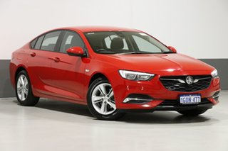 2018 Holden Commodore ZB LT Red 9 Speed Automatic Liftback.