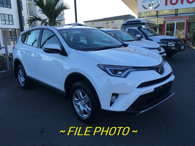 Used Toyota RAV4 ASA44R GX AWD, 2018 Toyota RAV4 ASA44R GX AWD Glacier White 6 Speed Sports Automatic Wagon
