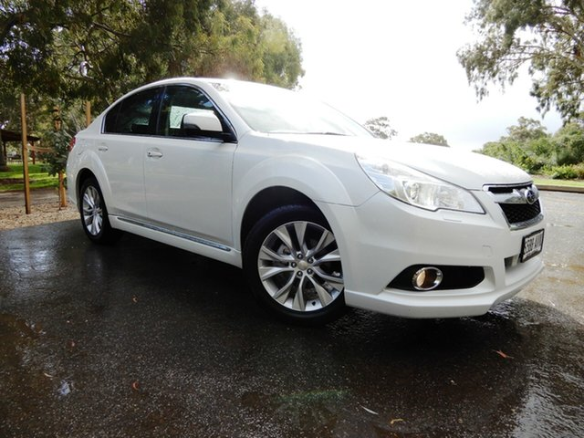 Used Subaru Liberty B5 MY13 2.5X Lineartronic AWD, 2012 Subaru Liberty B5 MY13 2.5X Lineartronic AWD White 6 Speed Constant Variable Sedan