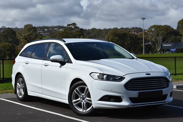 Used Ford Mondeo MD Ambiente SelectShift, 2016 Ford Mondeo MD Ambiente SelectShift White 6 Speed Sports Automatic Wagon