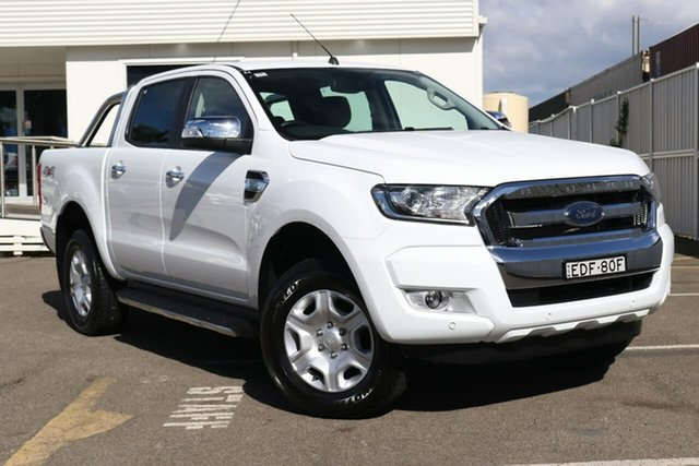 Used Ford Ranger PX MkII 2018.00MY XLT Double Cab, 2018 Ford Ranger PX MkII 2018.00MY XLT Double Cab White 6 Speed Sports Automatic Utility