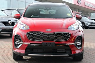 2020 Kia Sportage QL MY21 GT-Line AWD Fiery Red 6 Speed Sports Automatic Wagon