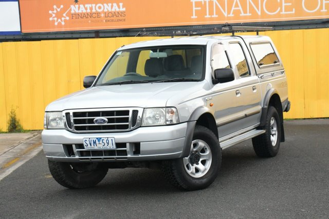 Used Ford Courier PG XL Crew Cab, 2004 Ford Courier PG XL Crew Cab Silver 5 Speed Manual Utility