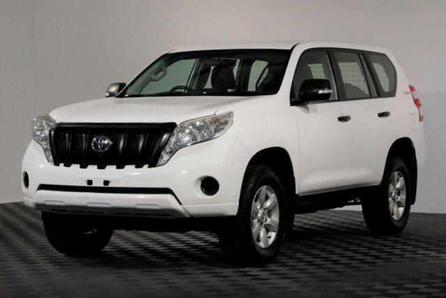 Used Toyota Landcruiser Prado KDJ150R MY14 GX, 2014 Toyota Landcruiser Prado KDJ150R MY14 GX White 5 Speed Sports Automatic Wagon