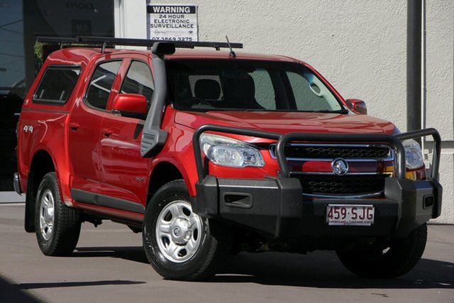 Used Holden Colorado RG MY13 LX Crew Cab, 2012 Holden Colorado RG MY13 LX Crew Cab Red 6 Speed Sports Automatic Utility
