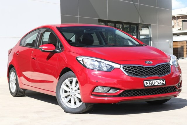 Used Kia Cerato YD MY15 S, 2015 Kia Cerato YD MY15 S Red 6 Speed Sports Automatic Sedan