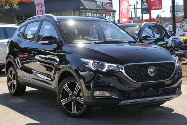 New MG ZS AZS1 MY19 Essence 2WD, 2019 MG ZS AZS1 MY19 Essence 2WD Pebble Black 6 Speed Automatic Wagon