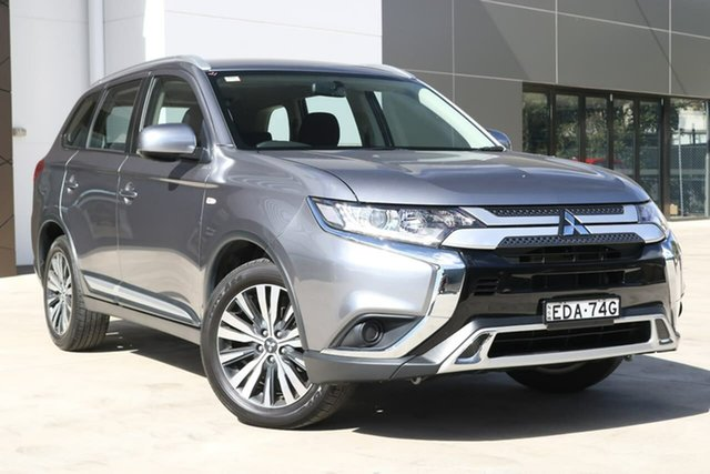 Used Mitsubishi Outlander ZL MY19 ES 2WD, 2018 Mitsubishi Outlander ZL MY19 ES 2WD Grey 6 Speed Constant Variable Wagon