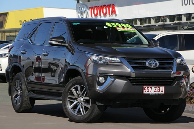 Used Toyota Fortuner GUN156R Crusade, 2016 Toyota Fortuner GUN156R Crusade Graphite 6 Speed Automatic Wagon