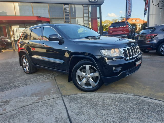 Used Jeep Grand Cherokee WK MY2013 Limited, 2012 Jeep Grand Cherokee WK MY2013 Limited Black 5 Speed Sports Automatic Wagon