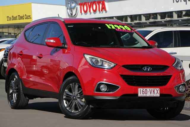 Used Hyundai ix35 LM3 MY15 SE, 2014 Hyundai ix35 LM3 MY15 SE Red 6 Speed Sports Automatic Wagon
