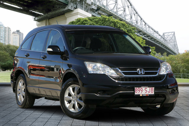 Used Honda CR-V RE MY2011 4WD, 2012 Honda CR-V RE MY2011 4WD Black 6 Speed Manual Wagon