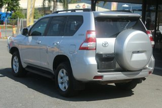 2014 Toyota Landcruiser Prado GRJ150R MY14 GXL Silver 5 Speed Sports Automatic Wagon.