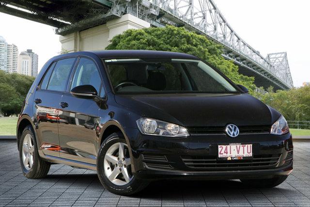 Used Volkswagen Golf VII MY15 90TSI DSG, 2015 Volkswagen Golf VII MY15 90TSI DSG Black 7 Speed Sports Automatic Dual Clutch Hatchback