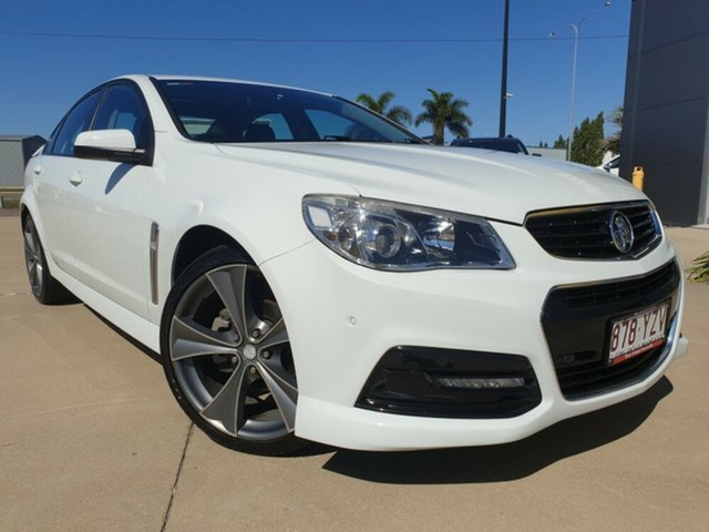 Used Holden Commodore VF MY14 SV6, 2013 Holden Commodore VF MY14 SV6 White 6 Speed Manual Sedan
