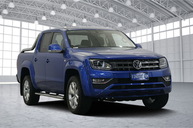 Used Volkswagen Amarok 2H MY17.5 TDI550 4MOTION Perm Ultimate, 2017 Volkswagen Amarok 2H MY17.5 TDI550 4MOTION Perm Ultimate Blue 8 Speed Automatic Utility