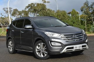 2014 Hyundai Santa Fe DM MY14 Highlander Grey 6 Speed Sports Automatic Wagon.