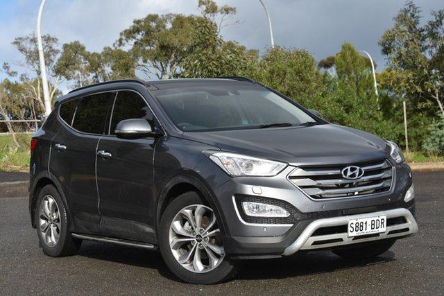 Used Hyundai Santa Fe DM MY14 Highlander, 2014 Hyundai Santa Fe DM MY14 Highlander Grey 6 Speed Sports Automatic Wagon