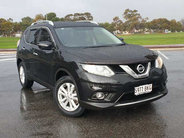 Used Nissan X-Trail T32 ST-L X-tronic 2WD, 2016 Nissan X-Trail T32 ST-L X-tronic 2WD Black 7 Speed Constant Variable Wagon