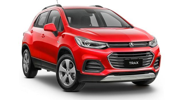 Demo Holden Trax TJ MY18 LS, 2018 Holden Trax TJ MY18 LS Absolute Red 6 Speed Automatic Wagon