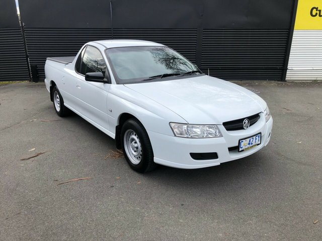 Used Holden Ute VZ MY06 , 2006 Holden Ute VZ MY06 White 4 Speed Automatic Utility
