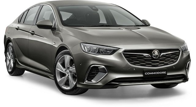 Demo Holden Commodore ZB MY18 RS-V Liftback AWD, 2018 Holden Commodore ZB MY18 RS-V Liftback AWD Cosmic Grey 9 Speed Sports Automatic Liftback
