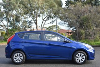 2016 Hyundai Accent RB4 MY16 SR Blue 6 Speed Sports Automatic Hatchback.