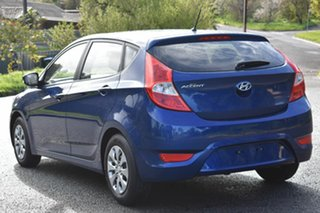 2016 Hyundai Accent RB4 MY16 SR Blue 6 Speed Sports Automatic Hatchback