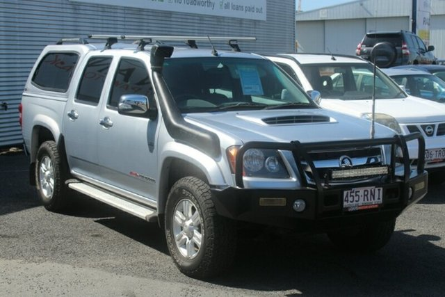 Used Holden Colorado RC MY10.5 LT-R Crew Cab, 2010 Holden Colorado RC MY10.5 LT-R Crew Cab Silver 5 Speed Manual Utility