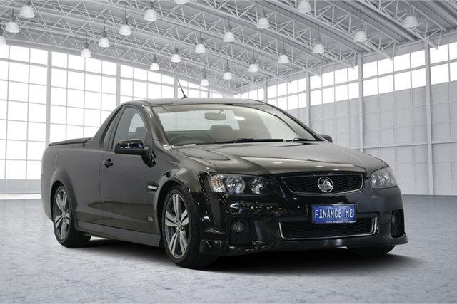 Used Holden Ute VE II MY12.5 SV6 Z Series, 2013 Holden Ute VE II MY12.5 SV6 Z Series Black 6 Speed Manual Utility