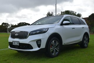 2019 Kia Sorento UM MY19 GT-Line AWD Snow White Pearl 8 Speed Sports Automatic Wagon