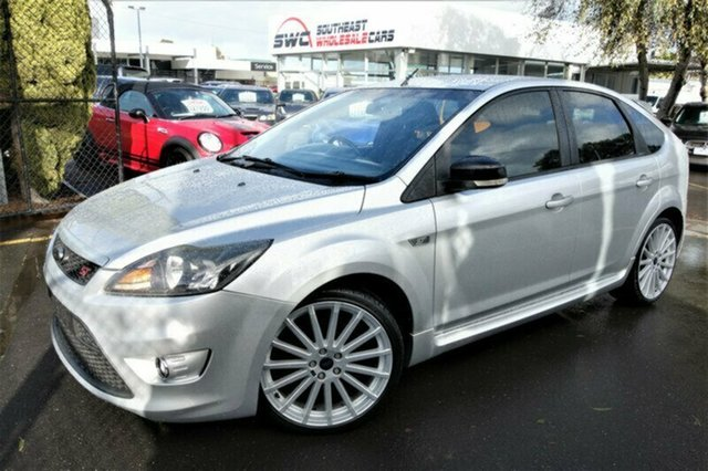 Used Ford Focus LV XR5 Turbo, 2010 Ford Focus LV XR5 Turbo Silver 6 Speed Manual Hatchback